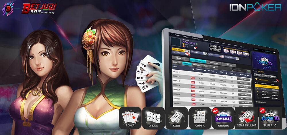 Judi Onlin Terpercaya Poker IDN Terbaik Di Indonesia